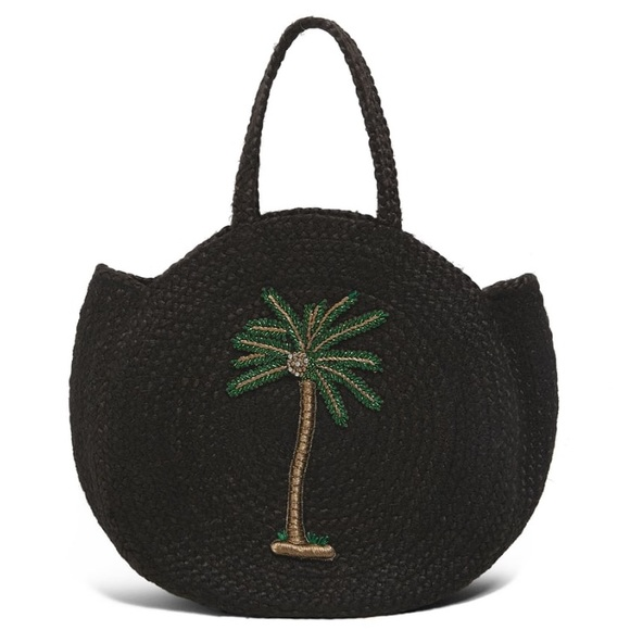 2152b96bcc NWT Zara Jute Embroidered Bag 🏖Vacay Friendly🏝
